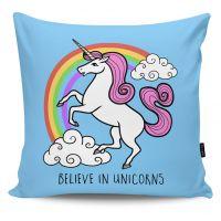 Poduszka dekoracyjna Believe in Unicorns